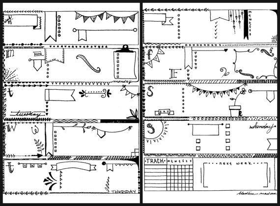 Jai < 3 drapeaux ! Ne pas vous ?  Vous aimez le look de revues Bullet dessiné à la main, mais vous navez pas heures pour mesurer et doodle. Maintenant vous pouvez avoir le meilleur des deux mondes !  Impression, plan, couleur, doodle et profitez de cet ensemble sur le thème drapeau adorable de pages de planificateur !  Drapeaux de coeur est un ensemble coordonné d'inserts dessiné à la main prêts à imprimer sur du papier à lettre 8,5 x 11 standard ou redimensionnées pour s'adapter à votre…