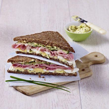 Herzhaftes Schlank-Sandwich Rezept | LECKER