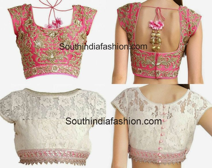 Stylish Designer Blouses by Anushree Reddy ~ Celebrity Sarees, Designer Sarees, Bridal Sarees, Latest Blouse Designs 2014