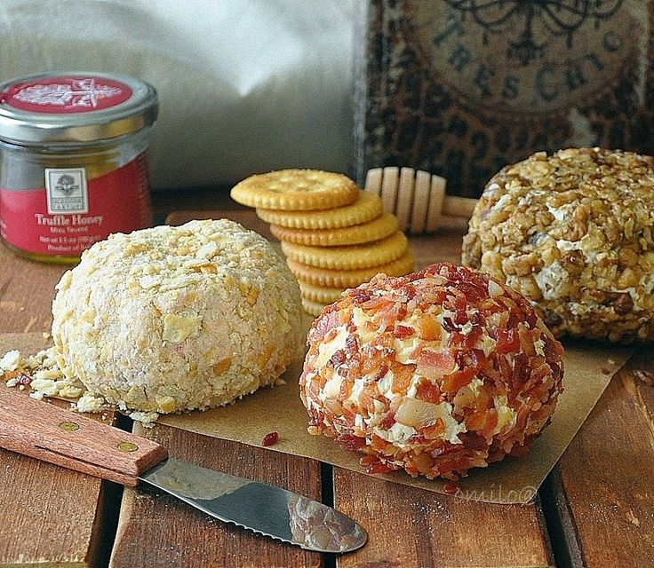 Something about food ...: Cheese Ball with clams