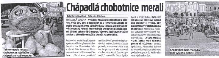 MY SME - Chobotnica, Rimavská Sobota.