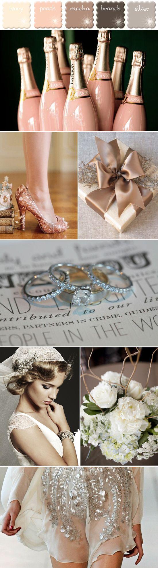 25 Best Ideas About Cream Wedding Colors On Pinterest