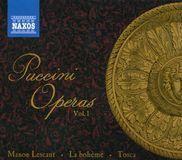 Puccini Operas, Vol. 1: Manon Lescaut, La Bohème, Tosca [CD], 16794207