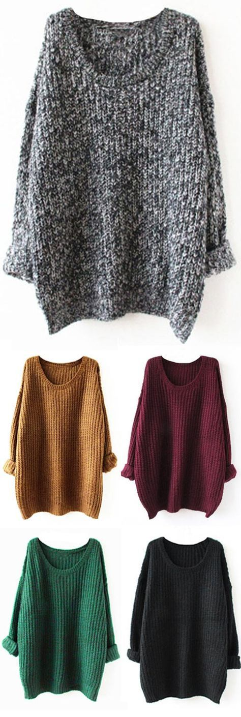 Wow, only $16.99! Wanna prepare for this upcoming Fall? This simple style sweater could be your best choice. Tap the photo to see more at http://Cupshe.com