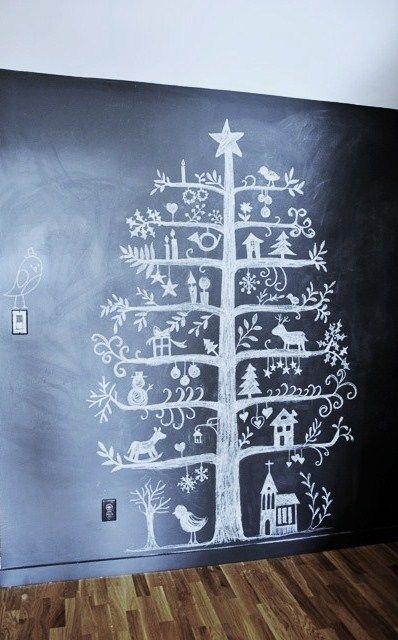 kerstboom... jammer dat ik niet zo mooi kan tekenen...