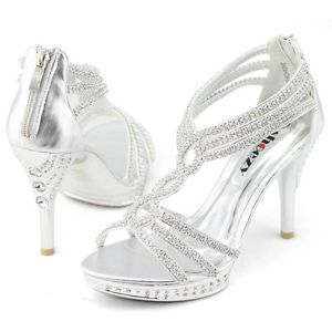 571a5b532bf 1000 ideas about Silver Heels on Pinterest