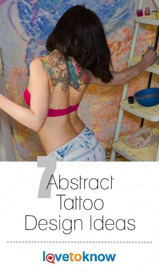 Abstract tattoos are art-to-wear permanently inked into your skin. Theyre a ne … – Never tell me