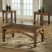Found it at Wayfair - Bernards Arch Design 3 Piece Coffee Table Set