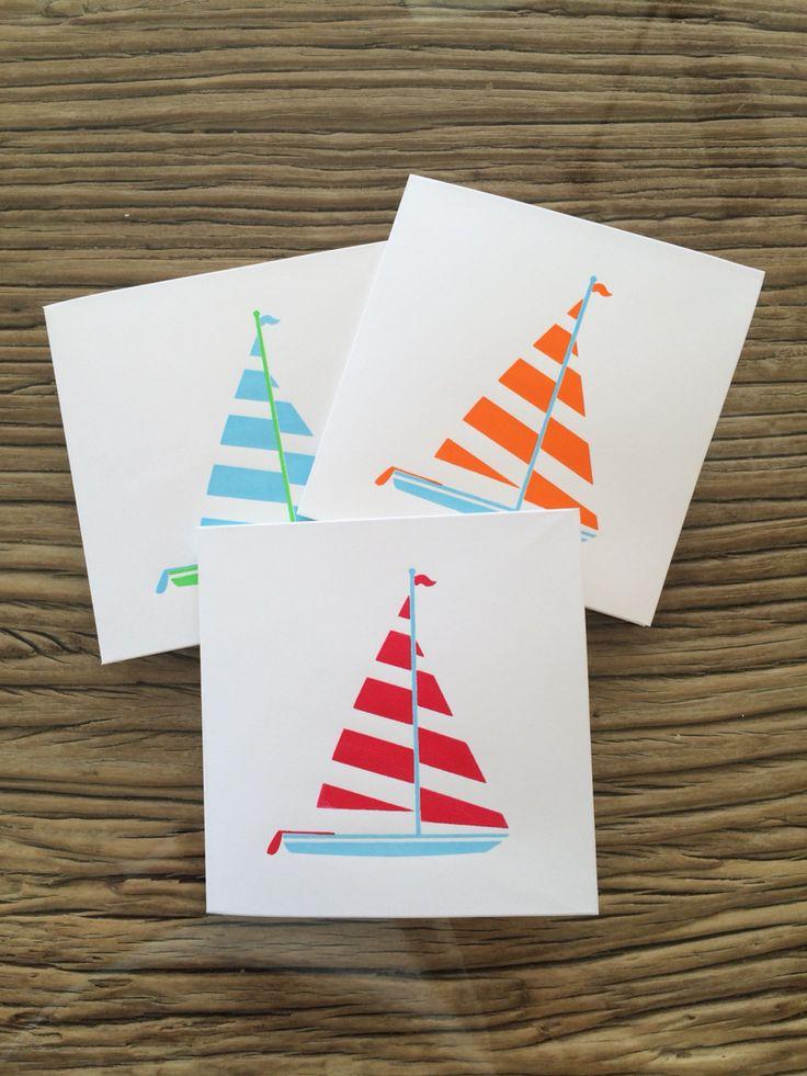 'Sail Away' - Screenprint Card