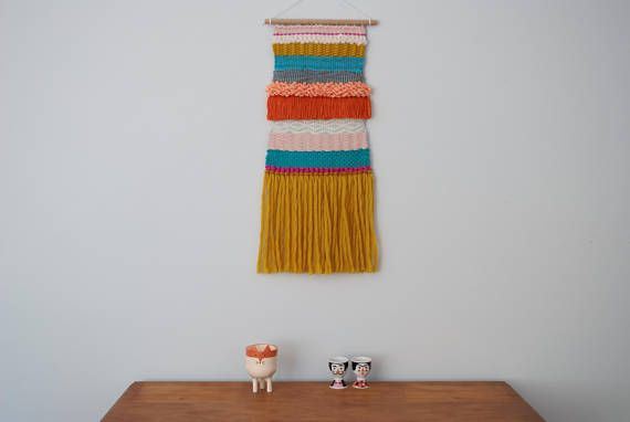 Colourful Wall Weaving Loom Wall Hanging Tapestry