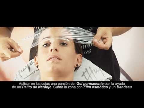PERMANENTE Y TINTE CEJAS Y PESTAÑAS - YouTube