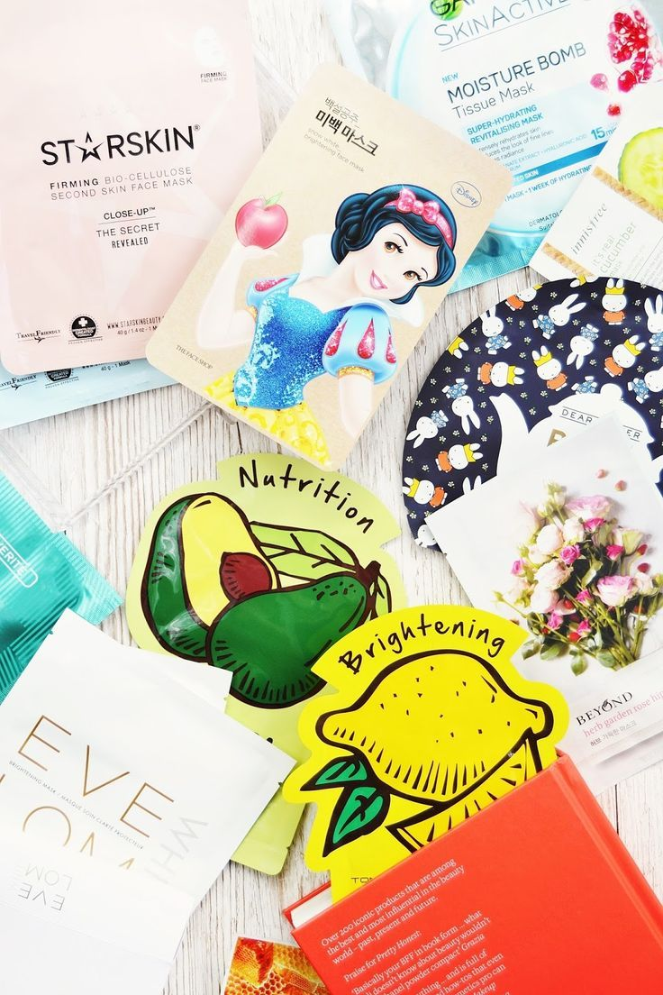 A complete guide to the new sheet mask trend. From how to use sheet masks to top brands, disney face masks and how to make your own DIY sheet mask!