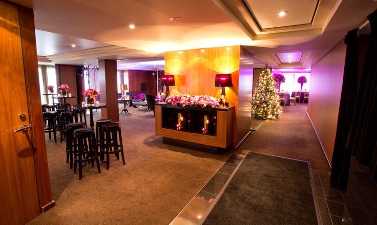 Christmas Party Lounge Setting in Treasury- Park Hyatt Melbourne