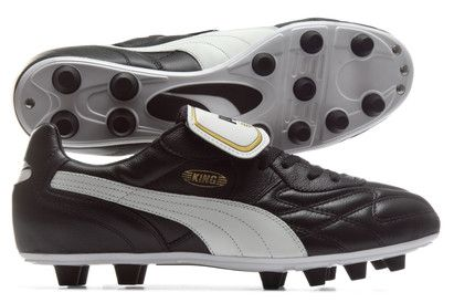 Puma King Top Mii FG Football Boots An iconic boot given a little additional Italian flair, lace up for the matches that matter the new Puma King Top Mii FG Football Boots in Black, White and Gold.These special edition Puma King boots f http://www.MightGet.com/february-2017-2/puma-king-top-mii-fg-football-boots.asp