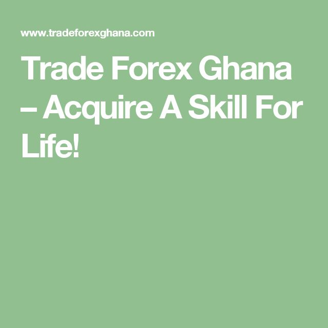 Trade Forex Ghana teaches and prepares students to become professional traders. Whether you have never traded before, or would like to improve your trading techniques, this program will teach you the secrets of the active trading world, with an emphasis on technical analysis, risk management, fundamental analysis, market psychology, and the use of case studies...etc