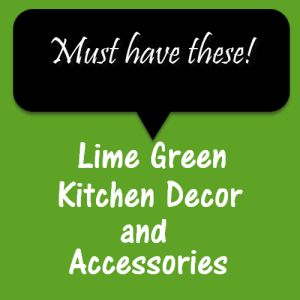 5 Lime Green Kitchen Decor And Accessory Ideas