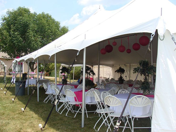 40 best tiff gradution party images on pinterest zebra for Outdoor tent decorating ideas