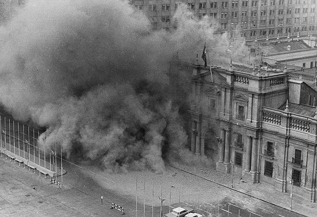 La Moneda bombing (11.Sep.1973)