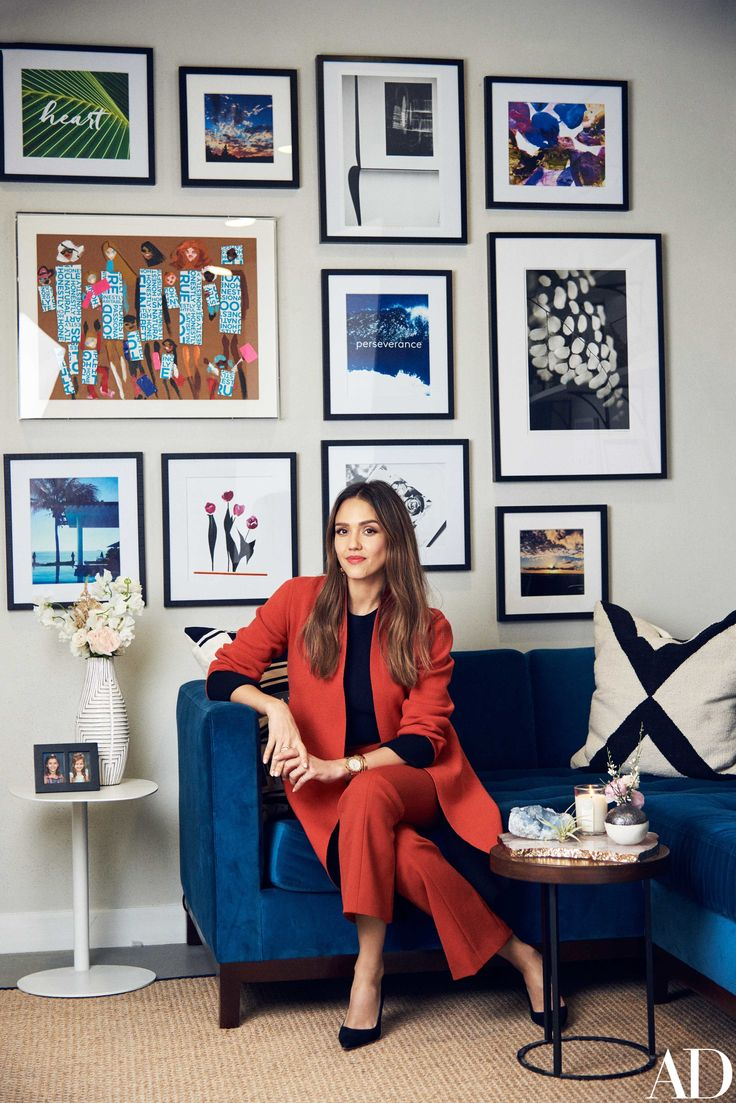 The actress turned businesswoman gives us an exclusive look at her 83,000-square-foot work space in Playa Vista, California