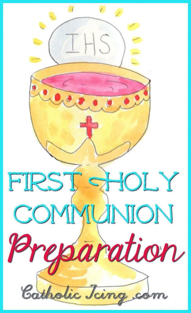 first holy communion prep at home