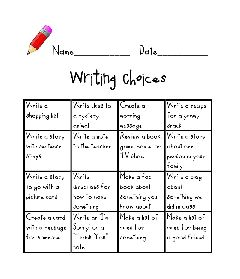 #writing choicesBack To Schools, Teaching Tidbits, Teachers Stuff, Choices Tunstall'S Teaching, Daily, Classroom Ideas, Writing Choice, Writing Activities, Schools And Writing