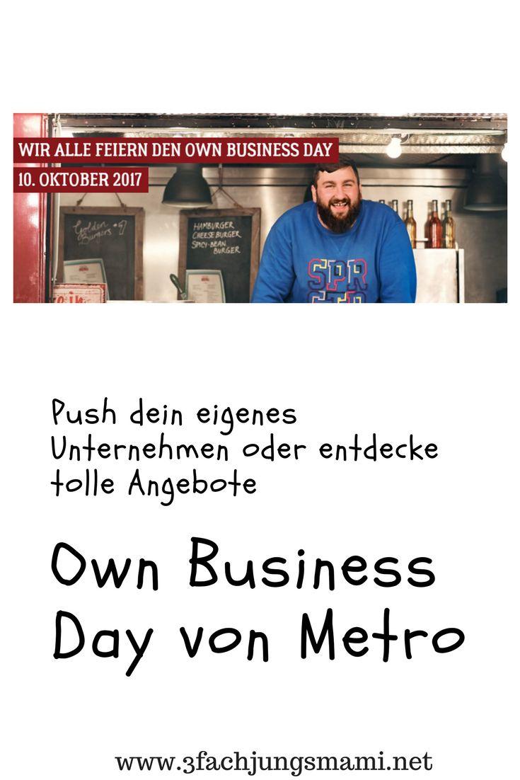 Mit dem Own Business Day hat Metro eine tolle Plattform erschaffen. Klickt euch rein und ihr werdet staunen. #anzeige #obd #ownbusinessday
