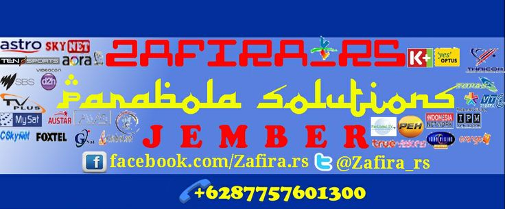 Zafira_rs Yours Parabola Solutions in JEMBER  Kami melayani Pasang Baru / Bekas Antena Parabola di rumah ANDA Minat : inbox FB atau di twitter serta Google+