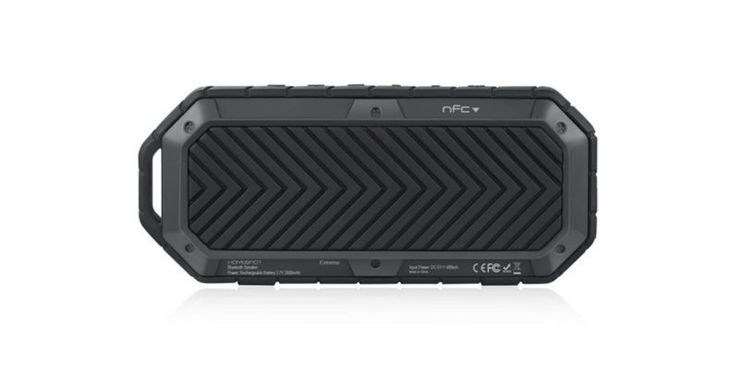 Take your tunes to the great outdoors with this rugged waterproof Bluetooth speaker (62% off) - http://www.sogotechnews.com/2016/11/07/take-your-tunes-to-the-great-outdoors-with-this-rugged-waterproof-bluetooth-speaker-62-off/?utm_source=Pinterest&utm_medium=autoshare&utm_campaign=SOGO+Tech+News