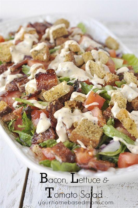 BLT Salad - your favorite sandwich in salad form!