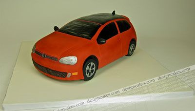 Golf GTI 3D car cake | Christine Pereira | Flickr