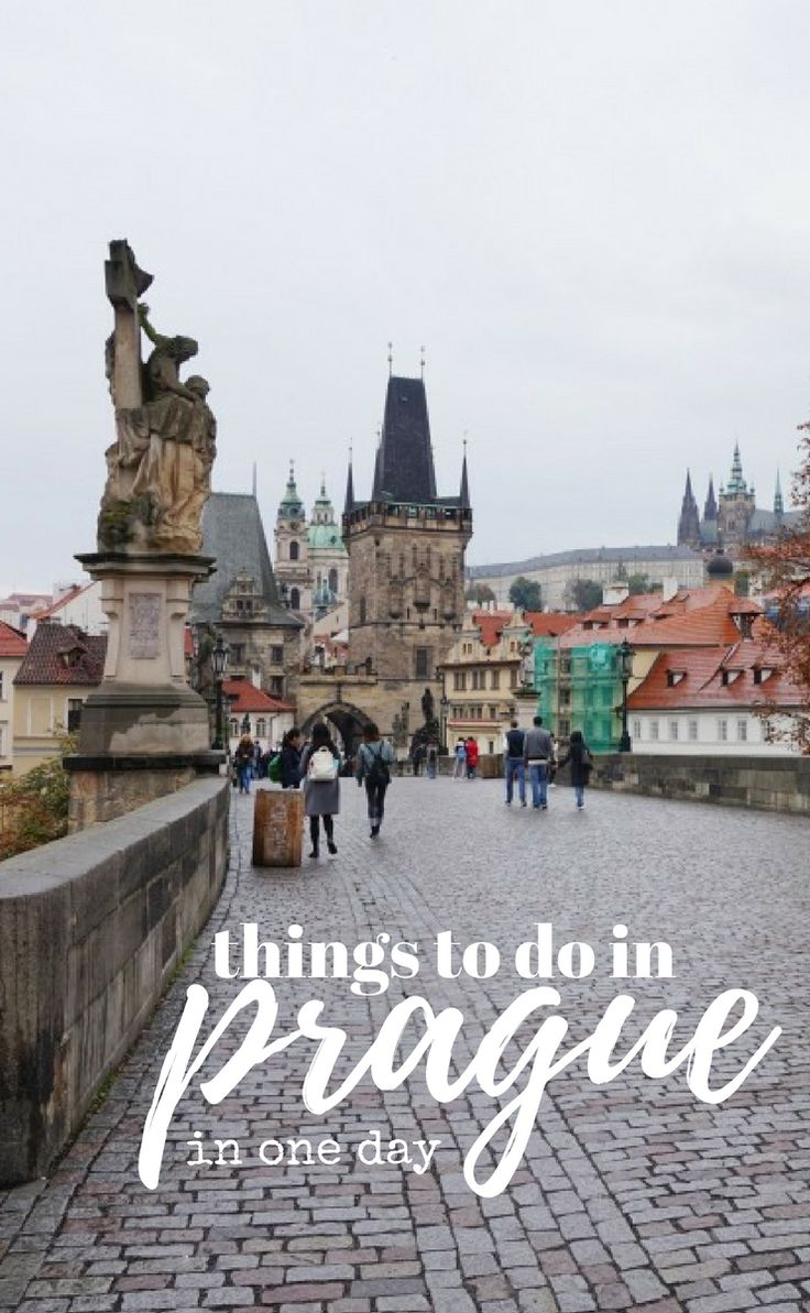 Things to do in Prague in just one day; see all the major sights of Prague in one day from Charles Bridge to the Astronomical clock and the Prague Castle District.