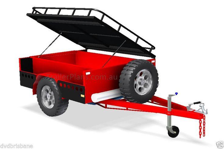 Off-road Camper Autocaravana planes-Diseño De Remolque -3 Tamaños