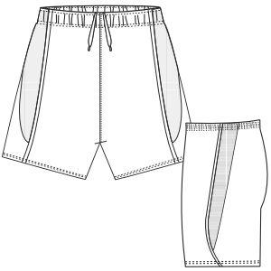 Navega por nuestra oferta de moldes de confeccion Short 690 DAMA Shorts