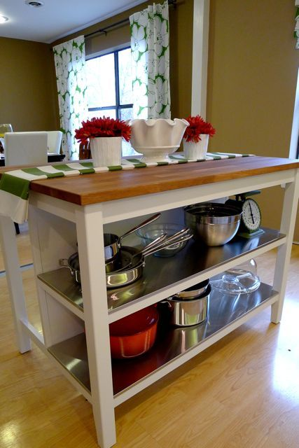 53 Best Images About Kitchen Island Cart On Pinterest