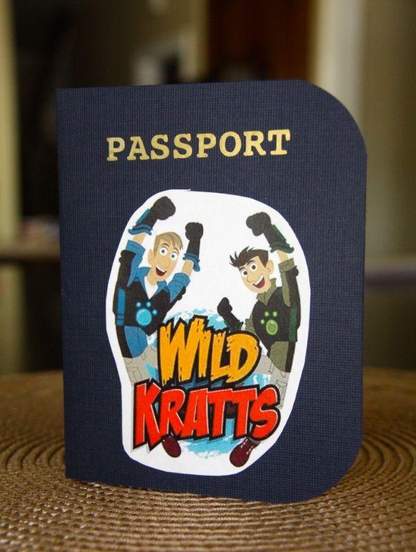 Wild Kratts Birthday invitation