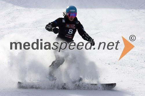 Caroline Calve, deskarka na snegu (Kanada)
