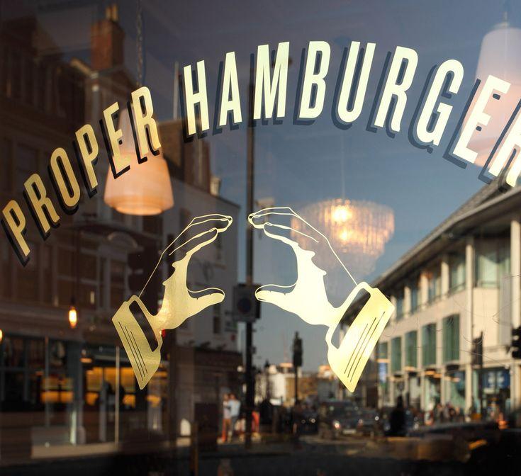 Byron hamburgers in London (on Haymarket) - mom's choice