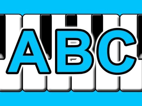 "▶ ""Learn to Play ABC Alphabet Song on Piano"" - Kids Learning Music - YouTube"