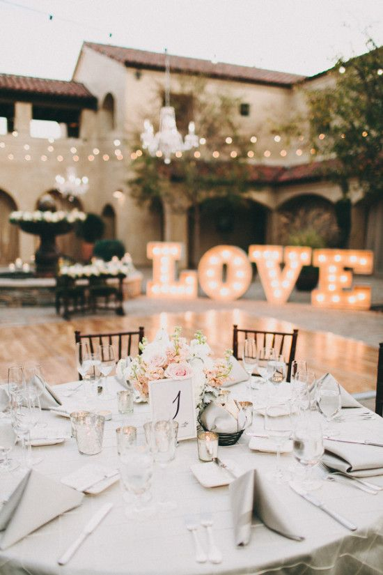 Love sign | Casablanca Wedding Dress for a Shabby chic wedding with blush and champagne colours Photographed by: laurenscotti.com | read full #wedding on fabmood.com: