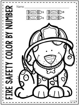 TpT Fire Safety Freebie - Perfect for Preschool, Kindergarten, and 1st Grade