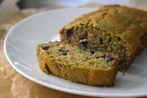 blueberry zucchini bread | DESSERT: Misc | Pinterest
