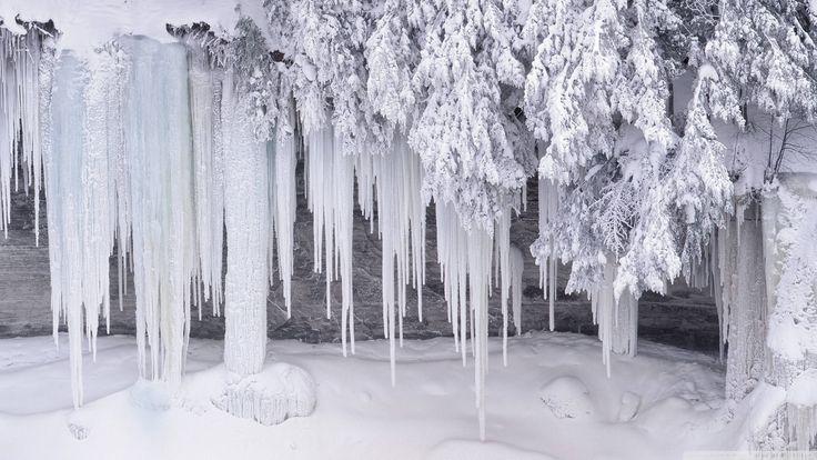 tapete, lieb ecran Tapete HD neige winter 2012031318 28