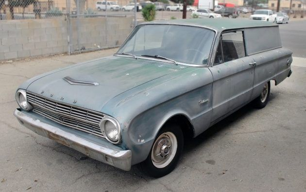 Stored 27 Years: 1962 Ford Falcon Sedan Delivery #Projects, #Wagons #Ford - https://barnfinds.com/stored-27-years-1962-ford-falcon-sedan-delivery/