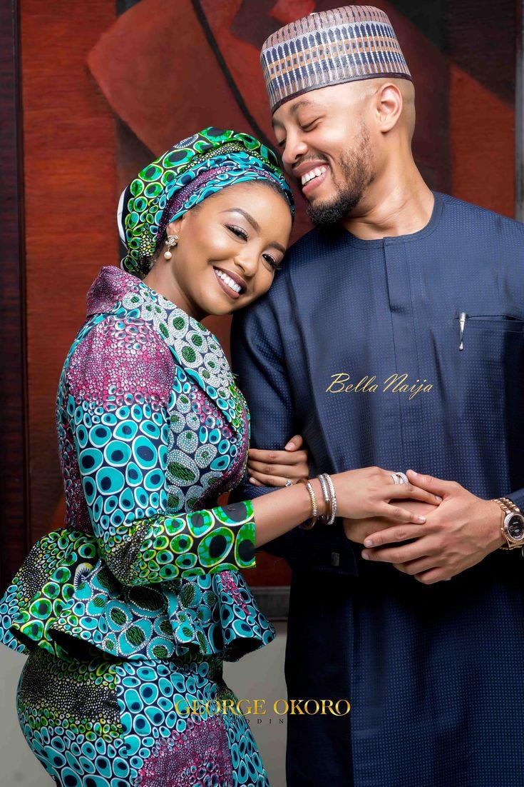 Rufai and Fatima Caught the Love Bug! See their Love Story &  Pre-Wedding Photos | George Okoro Weddings