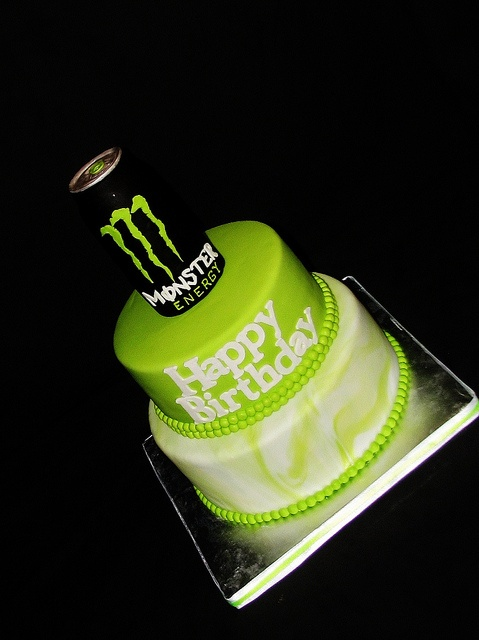 monster energy cake exclusive cakes website by Exclusive Cakes by Tessa, via Flickr