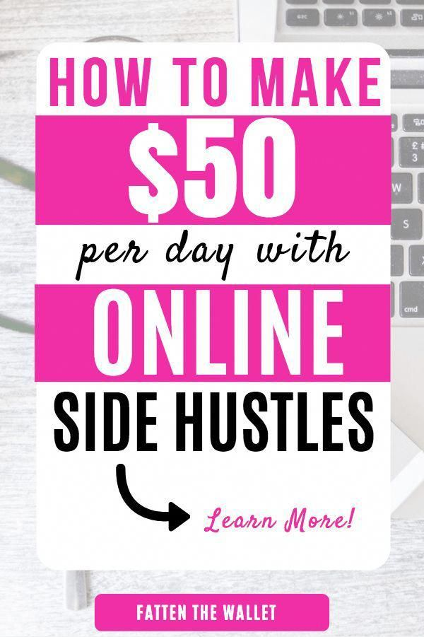 11 Easy Ways To Make $50 Money Fast – Fatten The Wallet #sidehustle #makemoneyon… – Daily Work From Home Tips