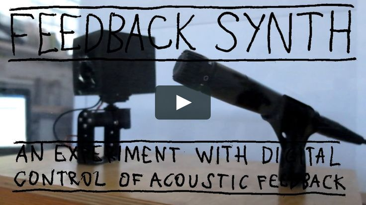 Feedback Synth is a proof-of-concept instrument which aims to control the frequency of acoustic feedback with midi keyboard. The instrument consists of small speaker…