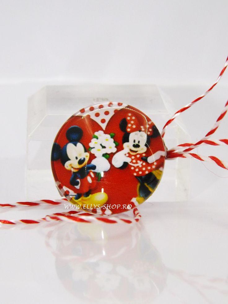 Martisoare copii Minnie si Mickey, colectia martisoare 2017