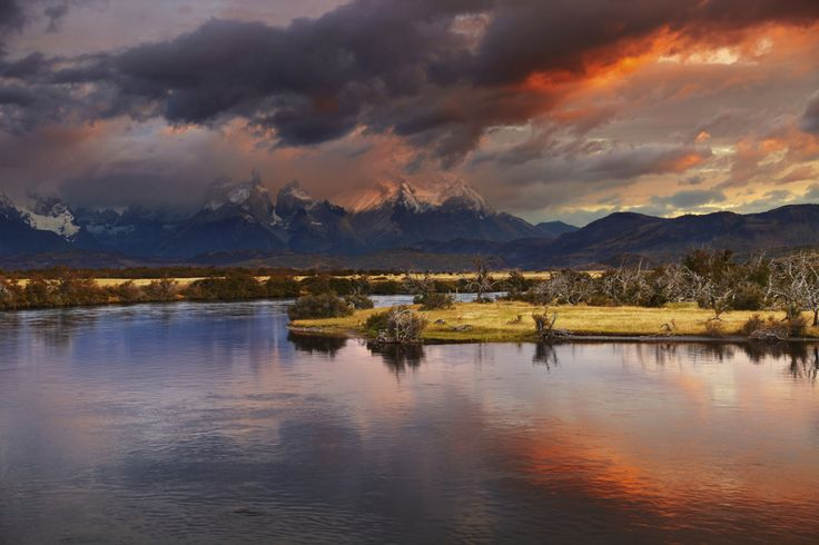 Torres Del Paine National Park, Patagonia , Aisén Region, Chile.