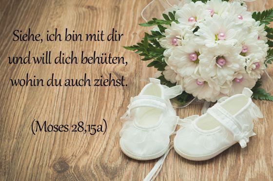 Taufsprüche: Moses 28,15a